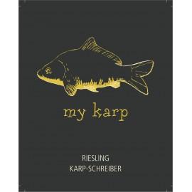 My Karp Riesling Fineherb 0,75l, 10,5% alc.