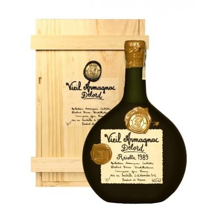 Armagnac Delord Millésimés - ročník 1989 0,7l, 40% alc.