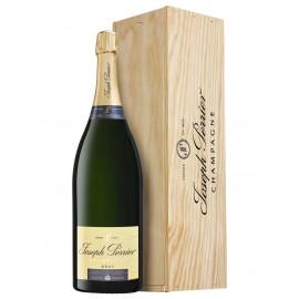 """Champagne Joseph Perrier Cuvée Royal Brut NV 3l """"Jeroboam""""+ dřevěný dárkový box"""