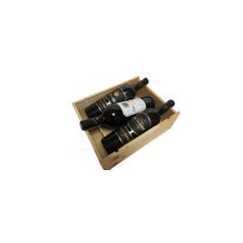Brumont Prestige dřevěný Box - 3x 0,75l