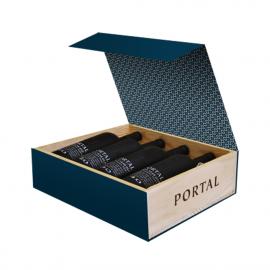 Dárkový box Portal 10, 20, 30 a 40Years Old Aged Tawny Port 4x0,75l, 20% alc.