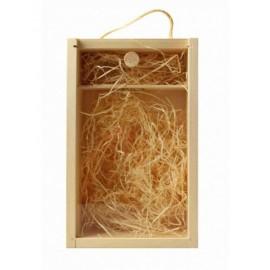 krabice dřevěná se sklem