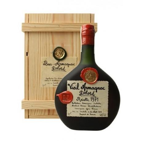 Armagnac Delord Millésimés - ročník 1971 0,7l, 40% alc.